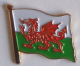 Wales Country Flag Enamel Pin Badge